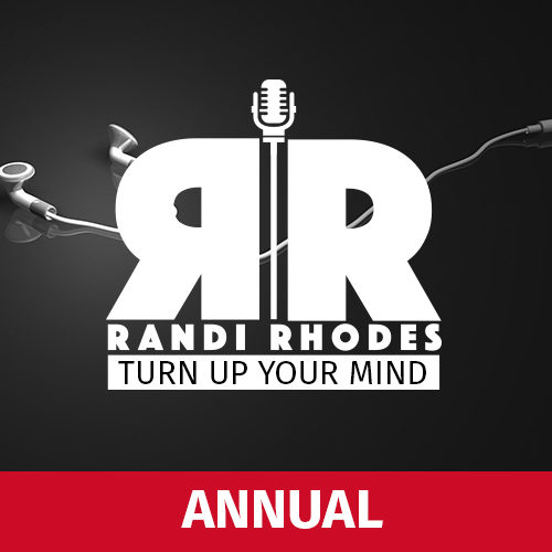 randi rhodes annual podcast plan